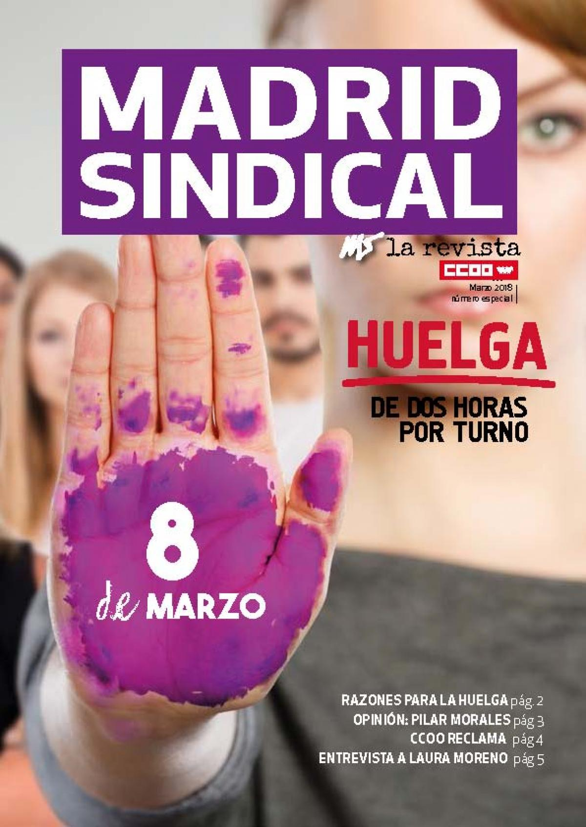 Madrid Sindical especial 8 de Marzo
