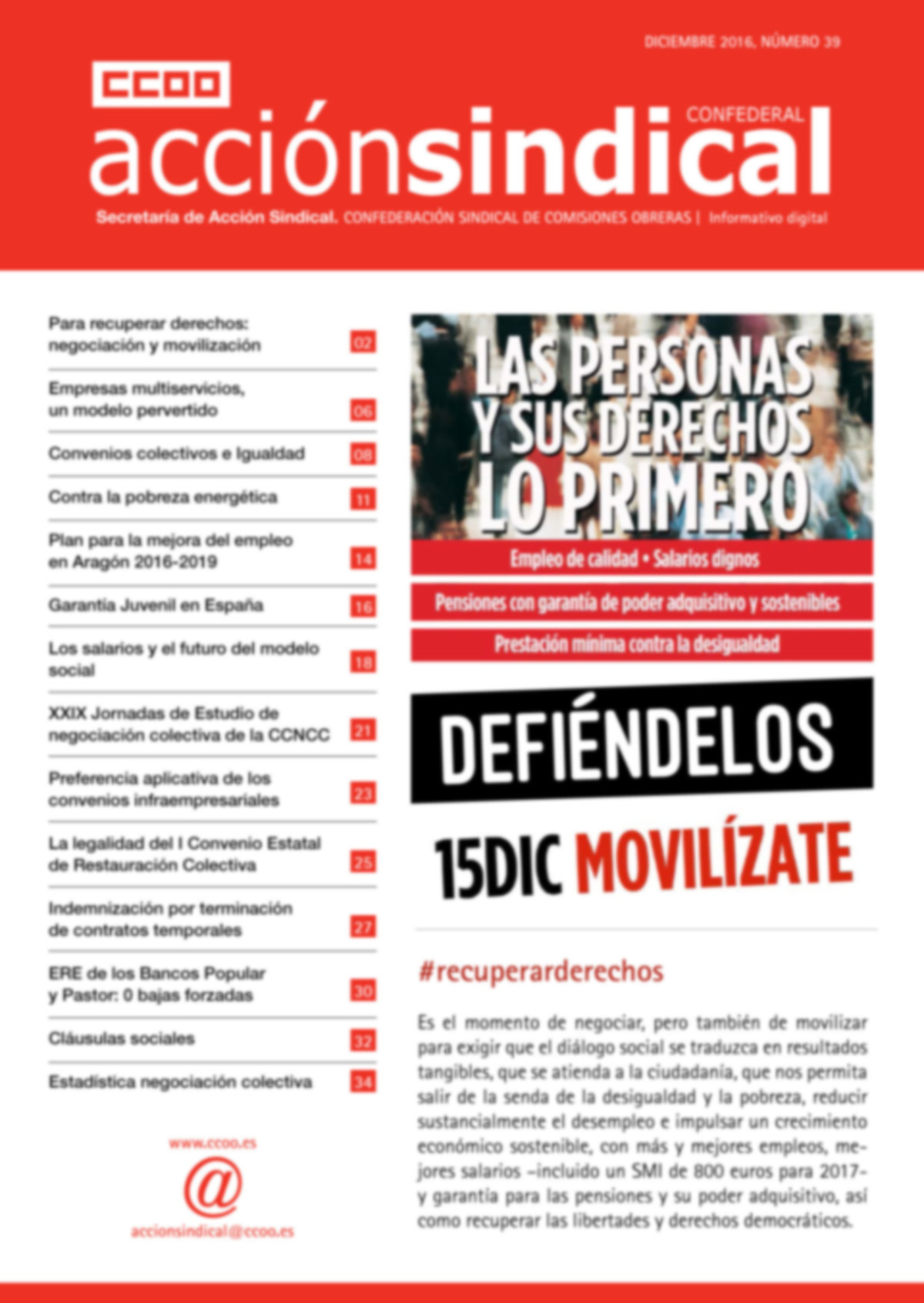 Revista de Acción Sindical nº 39