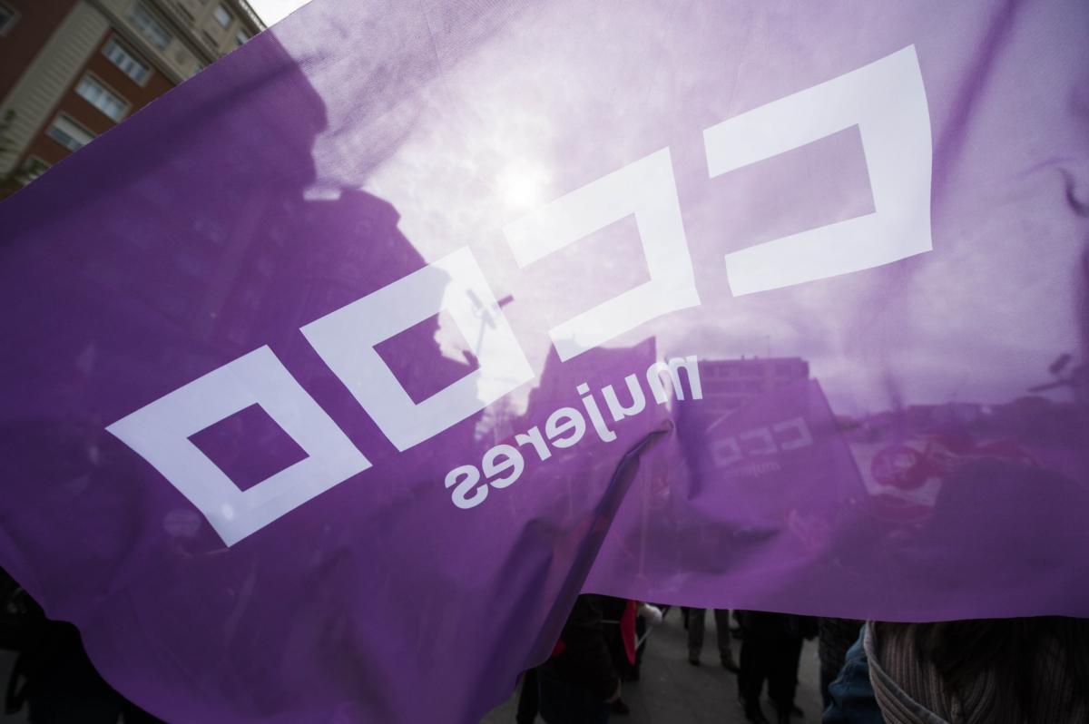 #CCOOVisibiliza #8MSiempre #EnClaveVioleta