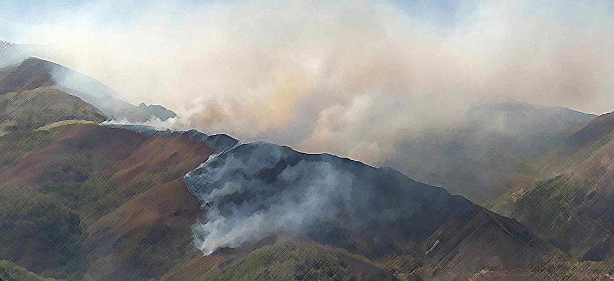 El riesgo de incendios forestales se ha incrementado en los últimos años
