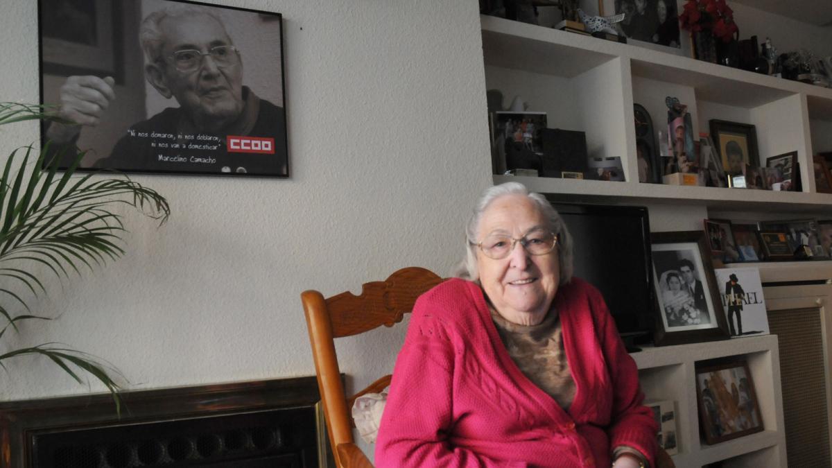 Josefina Samper, una vida entera de solidaridad y lucha