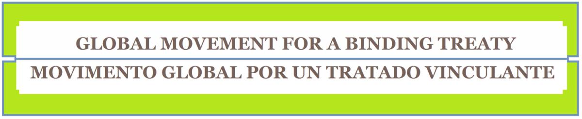 Movimiento Global por un Tratado Vinculante