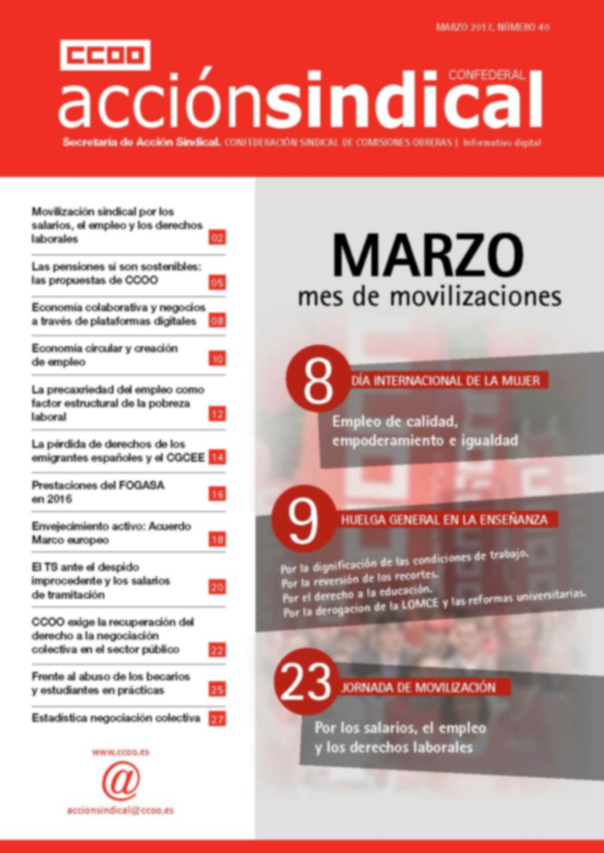 Revista de Acción Sindical nº 40
