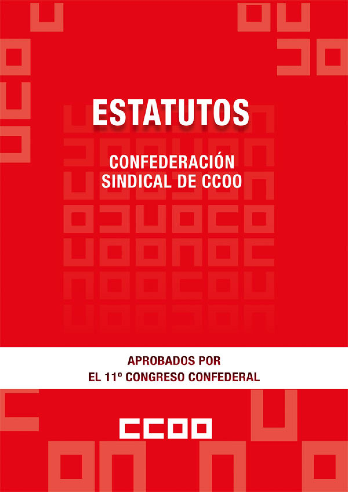 Estatutos XI Congreso Confederal