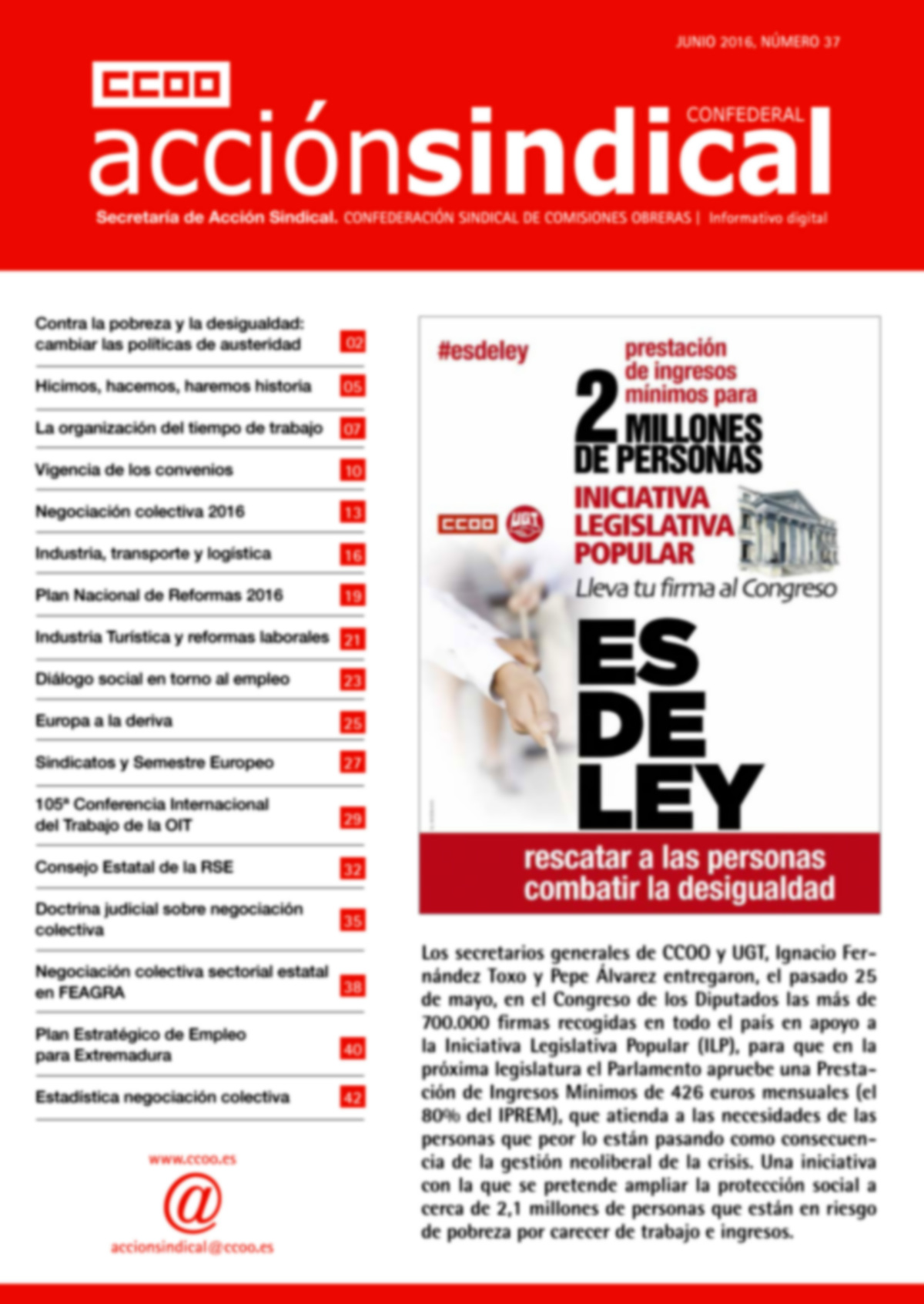 Revista de Acción Sindical  nº 37