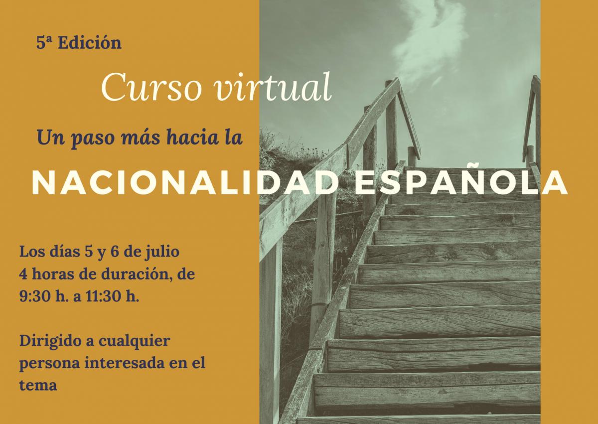 5ª Edición Curso virtual Nacionalidad Española.