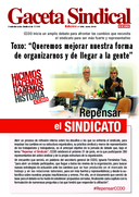 Gaceta Sindical Repensar el sindicato