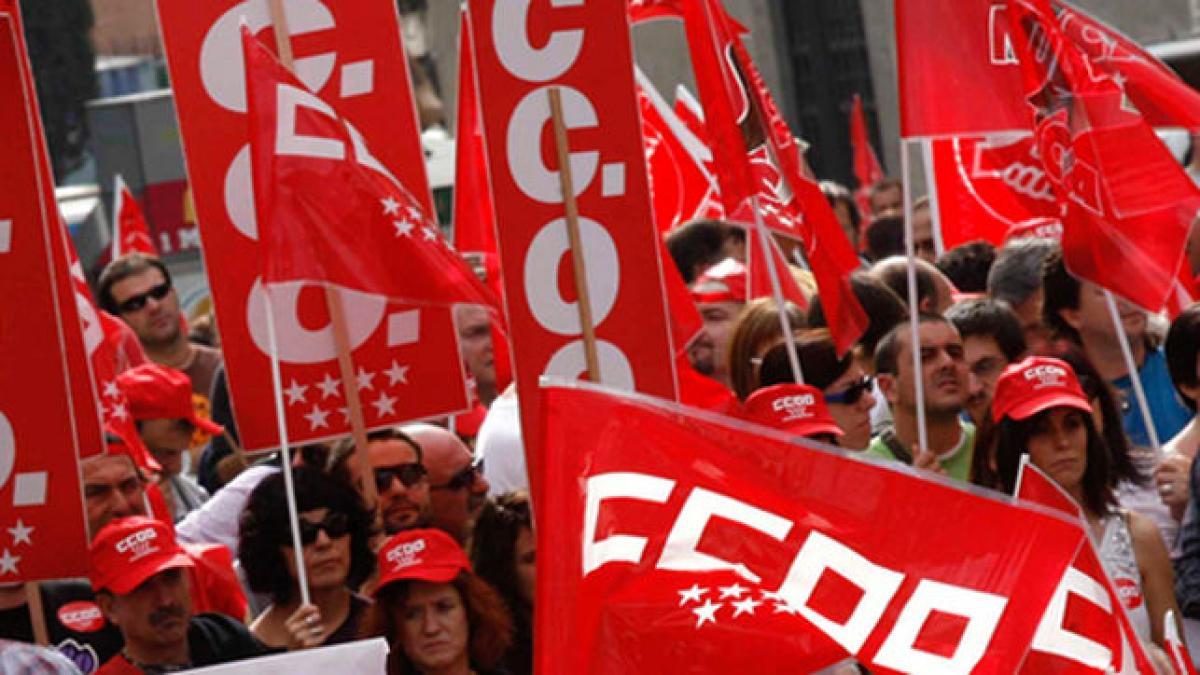 Resultado de imagen de manifestacion ccoo